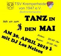 Tanz in den Mai des TSV Kremperheide