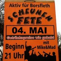 """Scheunenfete """"Aktiv für Borsfleth"""" 2019"""